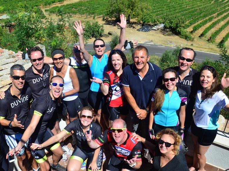 Tuscany Bike Tour Group
