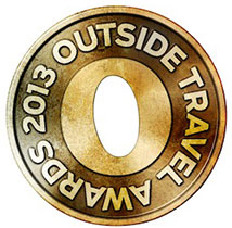 Outside Active Travel Logo