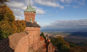 View From The Ramparts Of Alsace