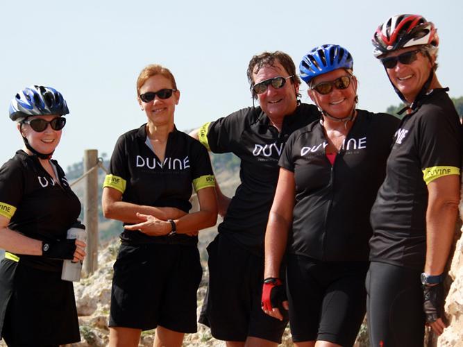 Puglia Bike Tour Guests Taking in The Coastal Views