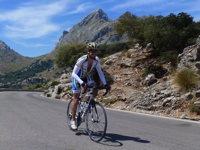 Climbing Uphill In Mallorca
