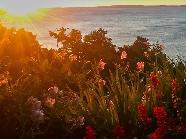Sunset on Chile Bike Tour