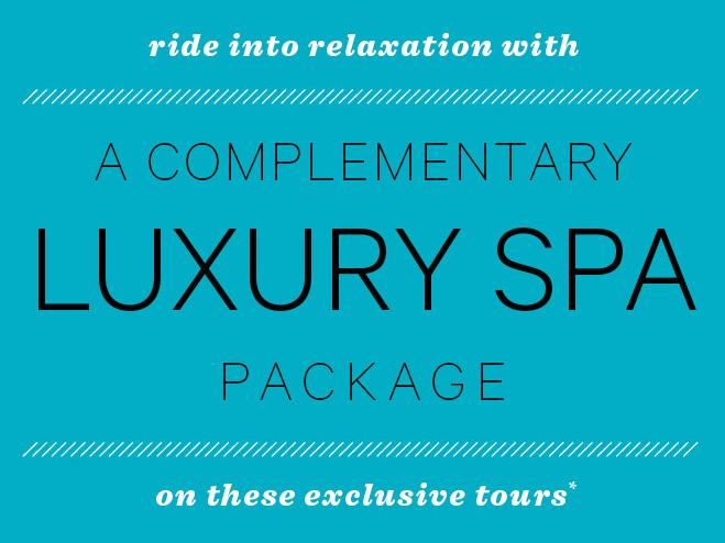 Complementary Spa Package