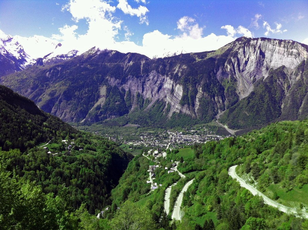 View of the Valley from the Alpe D Huez in Provence