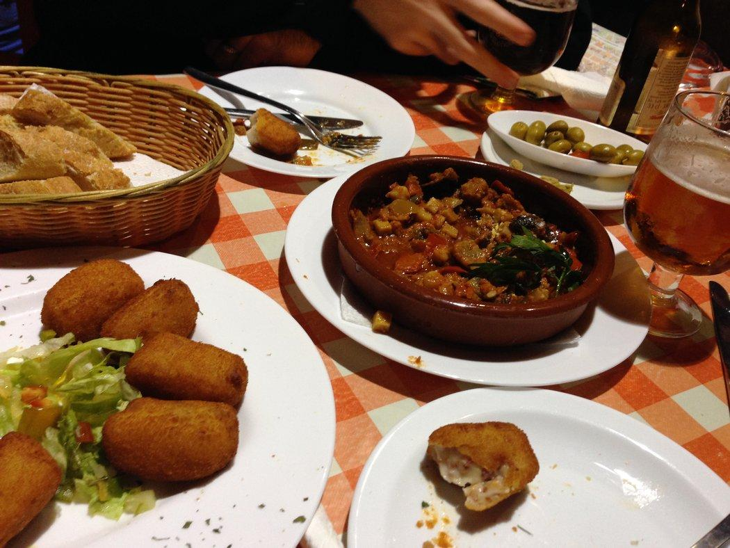 Food in Andalucia