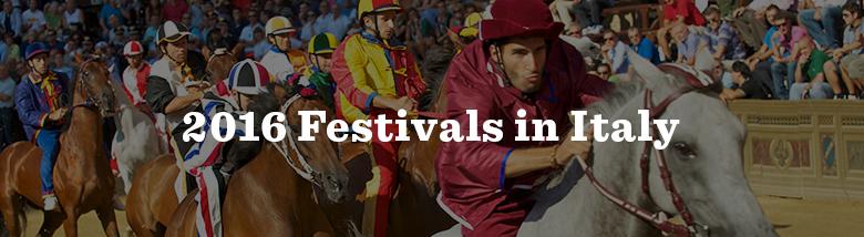 Italy Festivals CTA