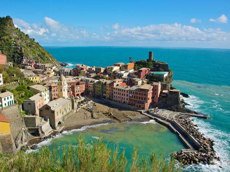 Best Coastal Bike Rides: Cinque Terre