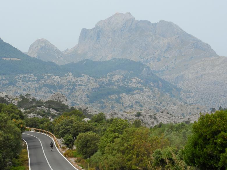 Mountain view in Mallorca, Spain