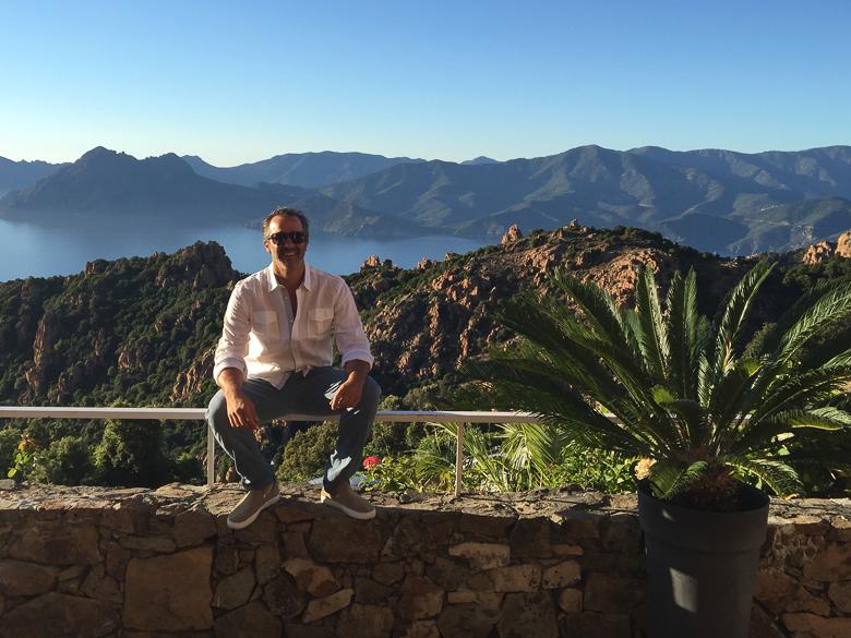 Andy Levine in Corsica
